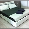 Letto matrimoniale mod. �Chant�l� ecopelle Bianca (Europeo)