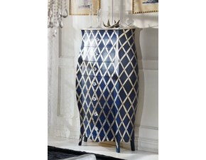 Settimino sagomato con decorazione blu OFFERTA OUTLET