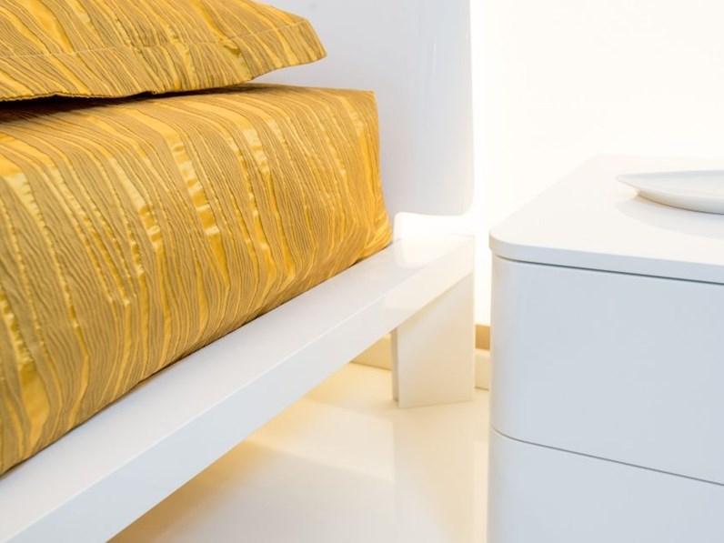 Super offerta camera completa clan bianco lucido con letto per rete 180x200 - Camera letto offerta ...
