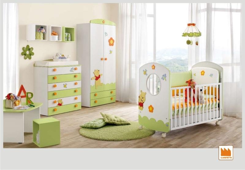 Elegant armadio winnie the pooh prima infanzia doimo - Muri camerette bambini ...