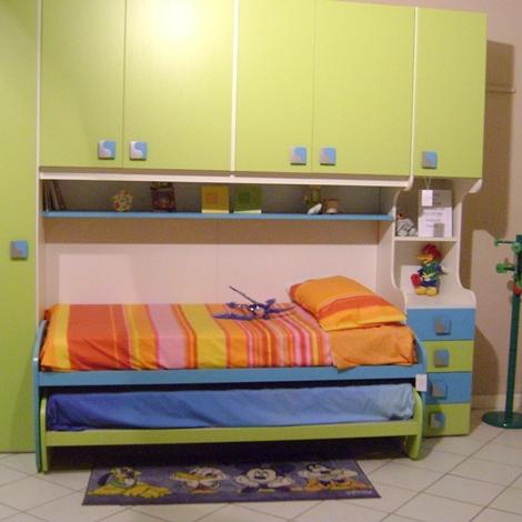 Camera mela ponte con letto camerette a prezzi scontati - Camerette verde mela ...