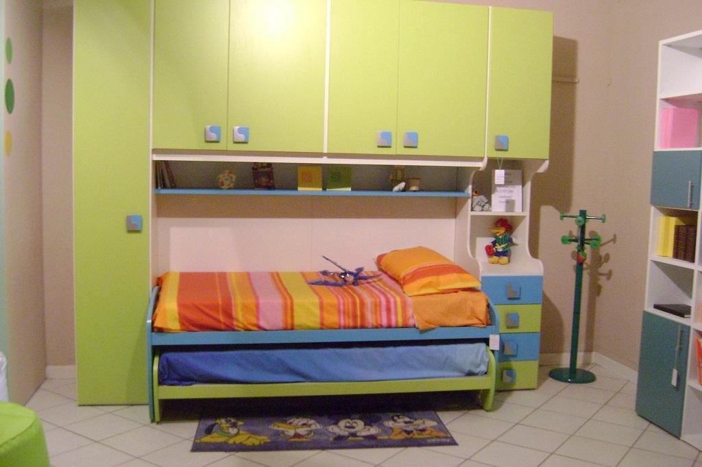 Camera mela ponte con letto camerette a prezzi scontati - Camerette con letto a ponte ...