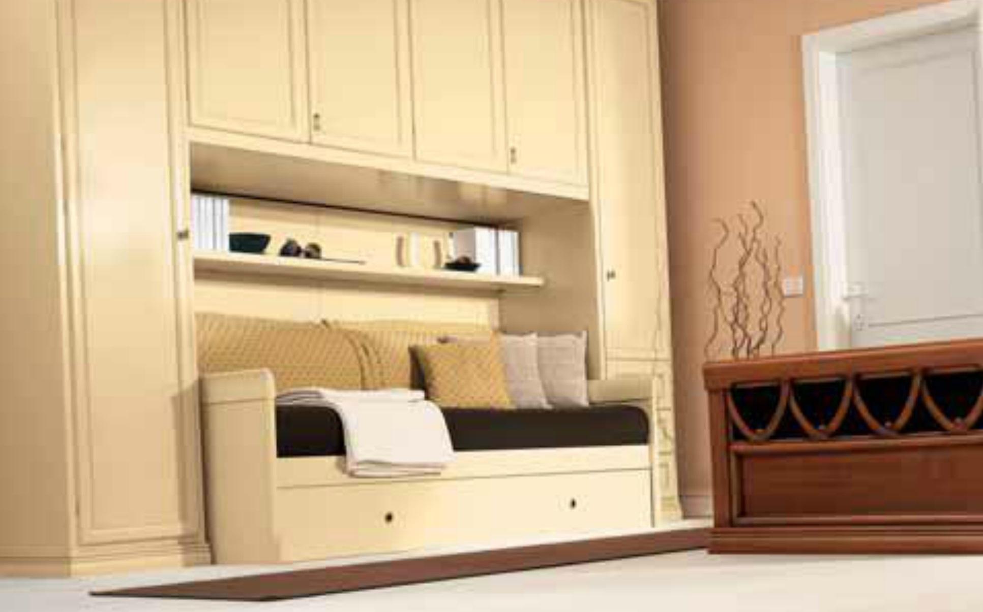 Cameretta a ponte con un letto in stile provenzale - Cameretta stile provenzale ...