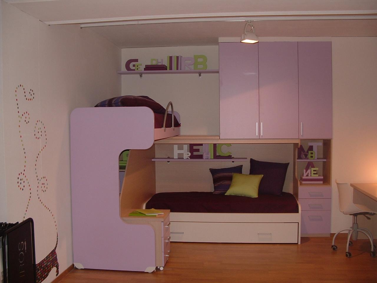 Cameretta a ponte ima young design con letto scorrevole - Camerette con letto a ponte ...