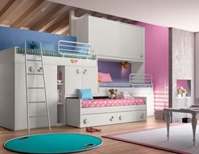 Cameretta A soppalco e castello 37 San martino mobili con letto a soppalcoin offerta