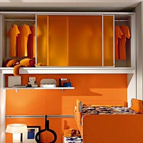 Cameretta arancione outlet camerette a prezzi scontati for Outlet camerette milano