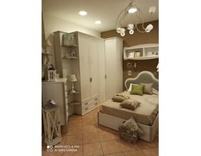 Cameretta Arcadia tortora Colombini casa con letto una piazza e mezza  in Offerta Outlet