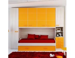 Cameretta Armadio ponte arancio Arrisal con un ribasso imbattibile