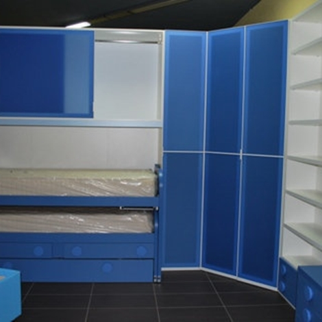 Cameretta Outlet Siloma Blu