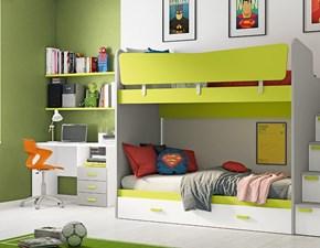Cameretta C324 Colombini casa con letto a castelloin offerta