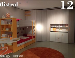 Cameretta Cameretta 12 Mistral in OFFERTA OUTLET