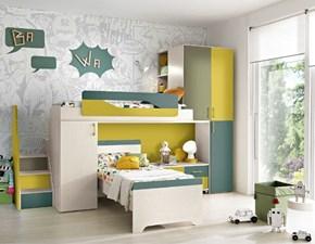 Cameretta Cameretta con letti a soppalco scontata del 50% Gruppo silwood con letto a soppalco in Offerta Outlet