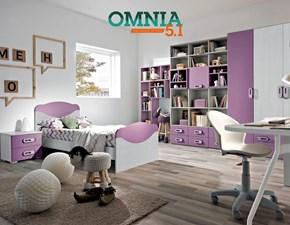 CAMERETTA Cameretta mod.omnia-s colore ciclamino in promo-sconto del 40% Gruppo silwood a PREZZI OUTLET