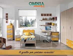 Cameretta Cameretta mod. omnias-in promo-sconto del 40% Gruppo silwood con letto a terra a prezzo Outlet