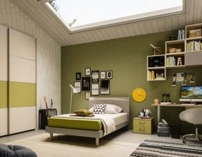 Cameretta Cameretta multidimensione con letto maxi Mottes selection con letto una piazza e mezza in offerta