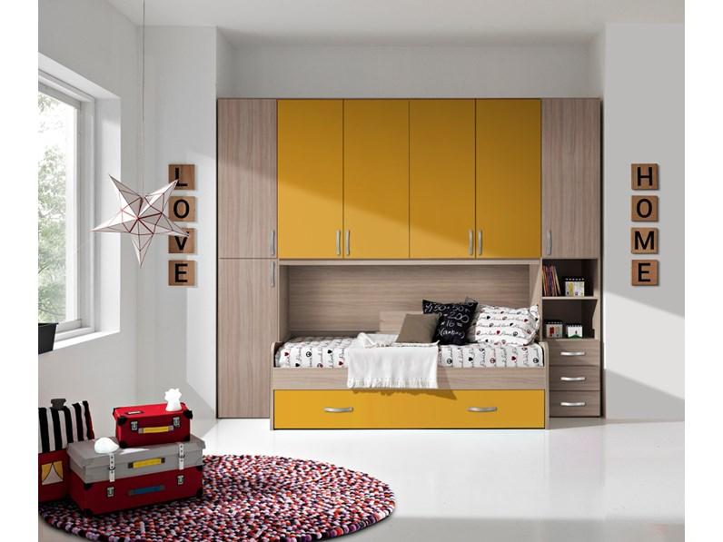 Cameretta Cameretta-ponte mod.marlon Gruppo silwood con letto a ...