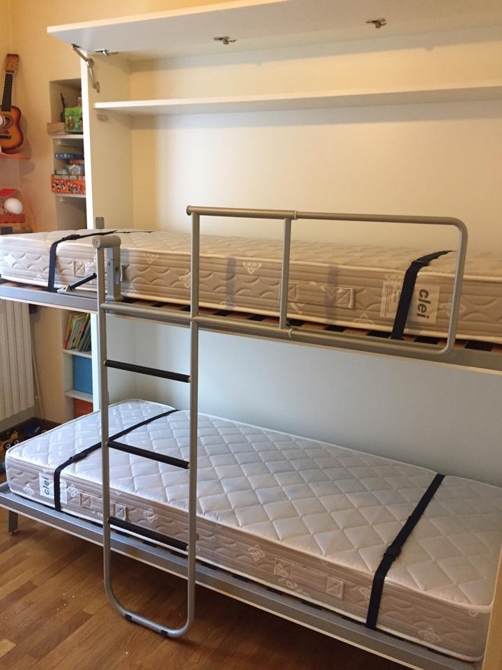 Letti A Scomparsa Milano. Cheap Letti A Scomparsa Bed Up Down Salone ...