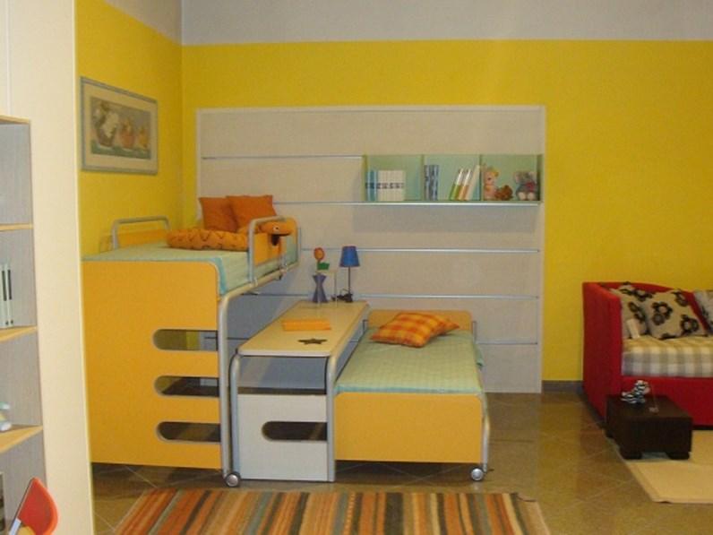 Beautiful letto a castello scorrevole gallery - La cameretta ideale lissone ...