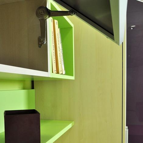 cabina armadio 145 cm colombini : Cameretta Colombini Golf con cabina e scrivania Letto a terra ...