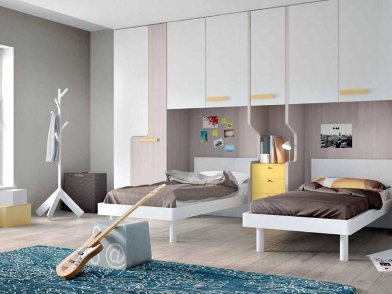 Cameretta mistral linea evo for Dimensione casa arredamenti