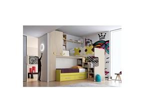 Cameretta Composizione 39 San martino mobili con letto a soppalcoin offerta