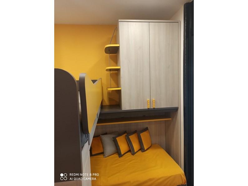Cameretta Composizione castello Colombini casa con letto a ...