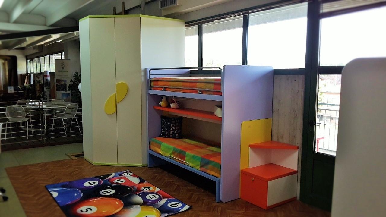 Cameretta con cabina armadio doimo city line in offerta for Prezzi della cabina di tronchi di 3 camere da letto