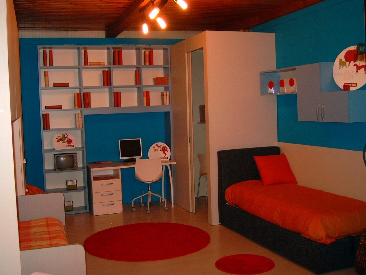 Awesome Camerette Con Cabina Armadio Pictures - Home Design Ideas ...