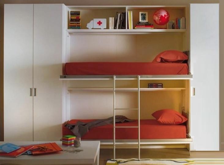 Letti a muro usati design casa creativa e mobili ispiratori for Letti a castello a scomparsa usati