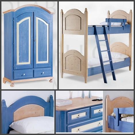 Cameretta con letto a castello completa di armadio e scrivania camerette a prezzi scontati - Cameretta con letto a castello ...