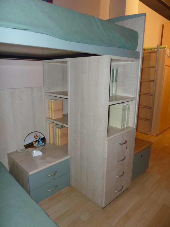 cabina armadio 145 cm colombini : ... Con Letto A Soppalco E Cabina Armadio Pictures to pin on Pinterest