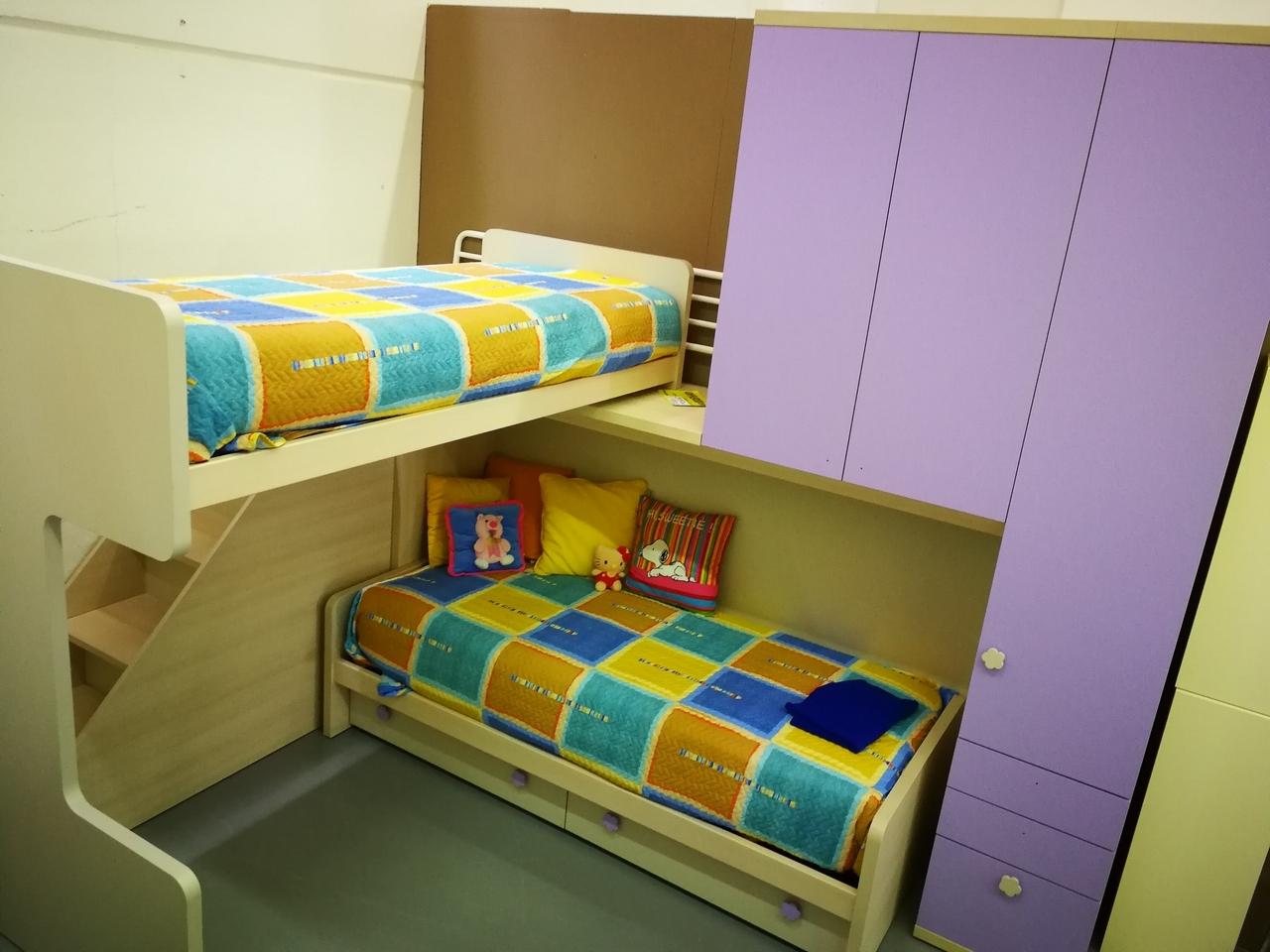 Cameretta doimo cityline cameretta con letto a soppalco camerette a prezzi scontati - Camerette con letto a soppalco ...