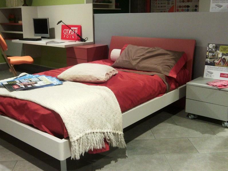 Cameretta Doimo Cityline con letto a una piazza e mezza e armadio ...