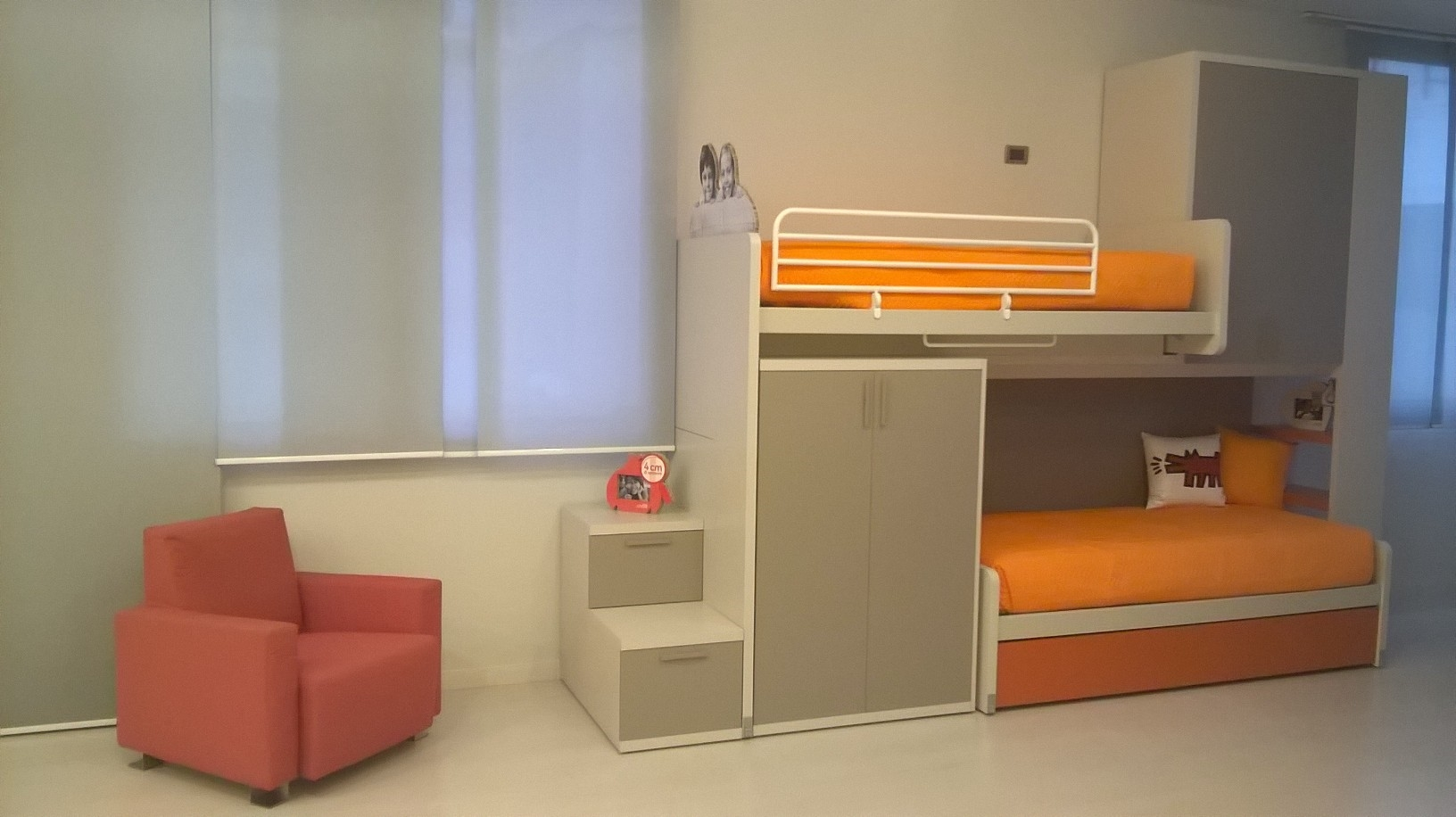 Camere da letto in legno - Camera letto soppalco ...