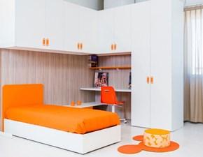 Cameretta Fantasy con letto contenitore e armadio ponte angolo in SUPER OFFERTA