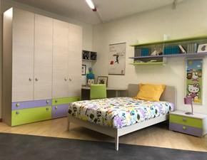 Cameretta Fantasy Zg mobili con letto a terra in Offerta Outlet