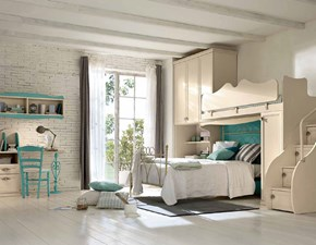 Cameretta Florence ac130 Colombini in laminato materico in Offerta Outlet