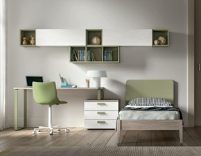 Cameretta Fy 10 mz Md work in OFFERTA OUTLET