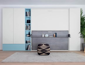 Cameretta Hiro up Clever con letti a scomparsa in Offerta Outlet