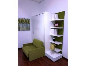 Cameretta in laccato lucidoAltea book sofa 90 di Clei