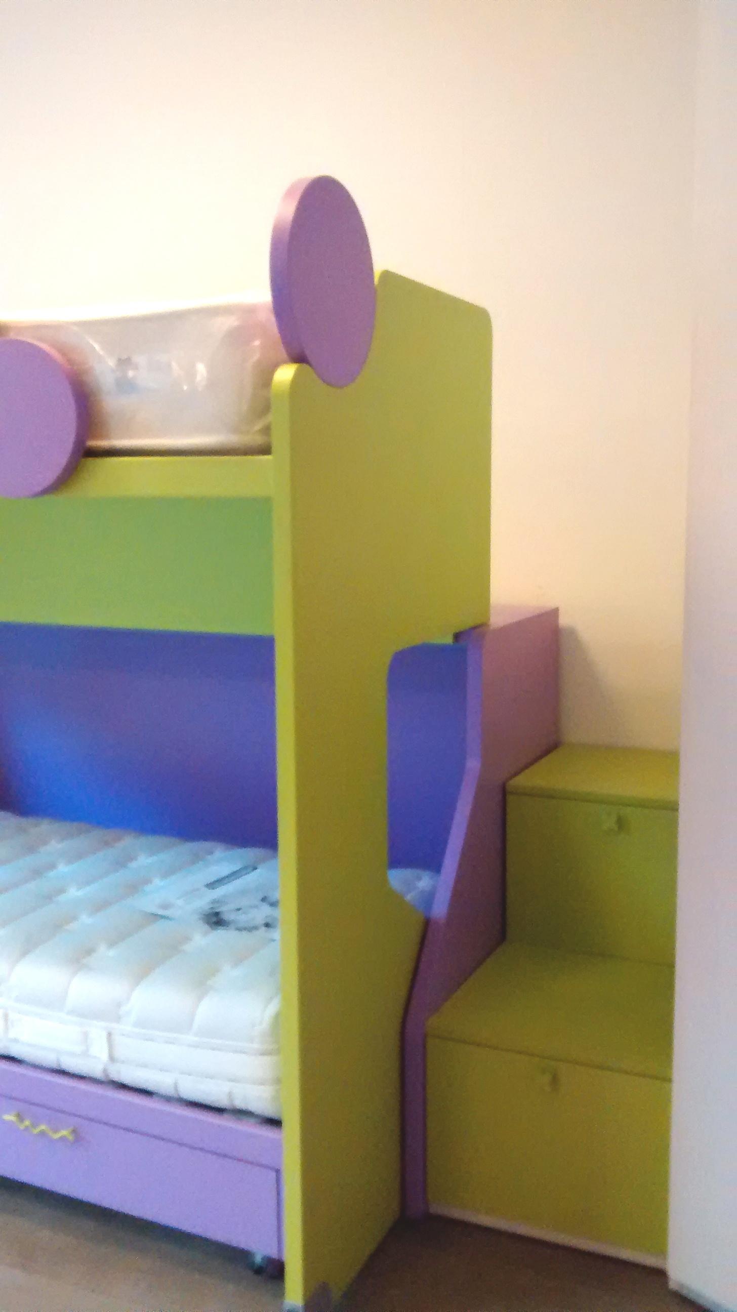 cameretta in offerta con letto castello e cabina ...