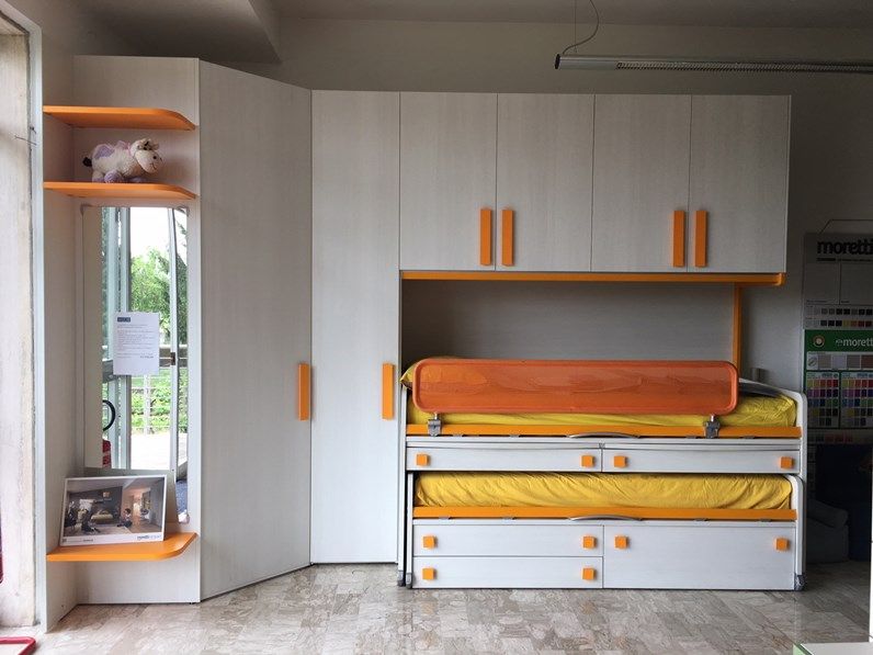 Cameretta Kids Moretti compact in OFFERTA OUTLET