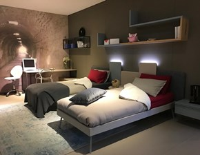 Cameretta Kios Clever in laminato opaco in Offerta Outlet