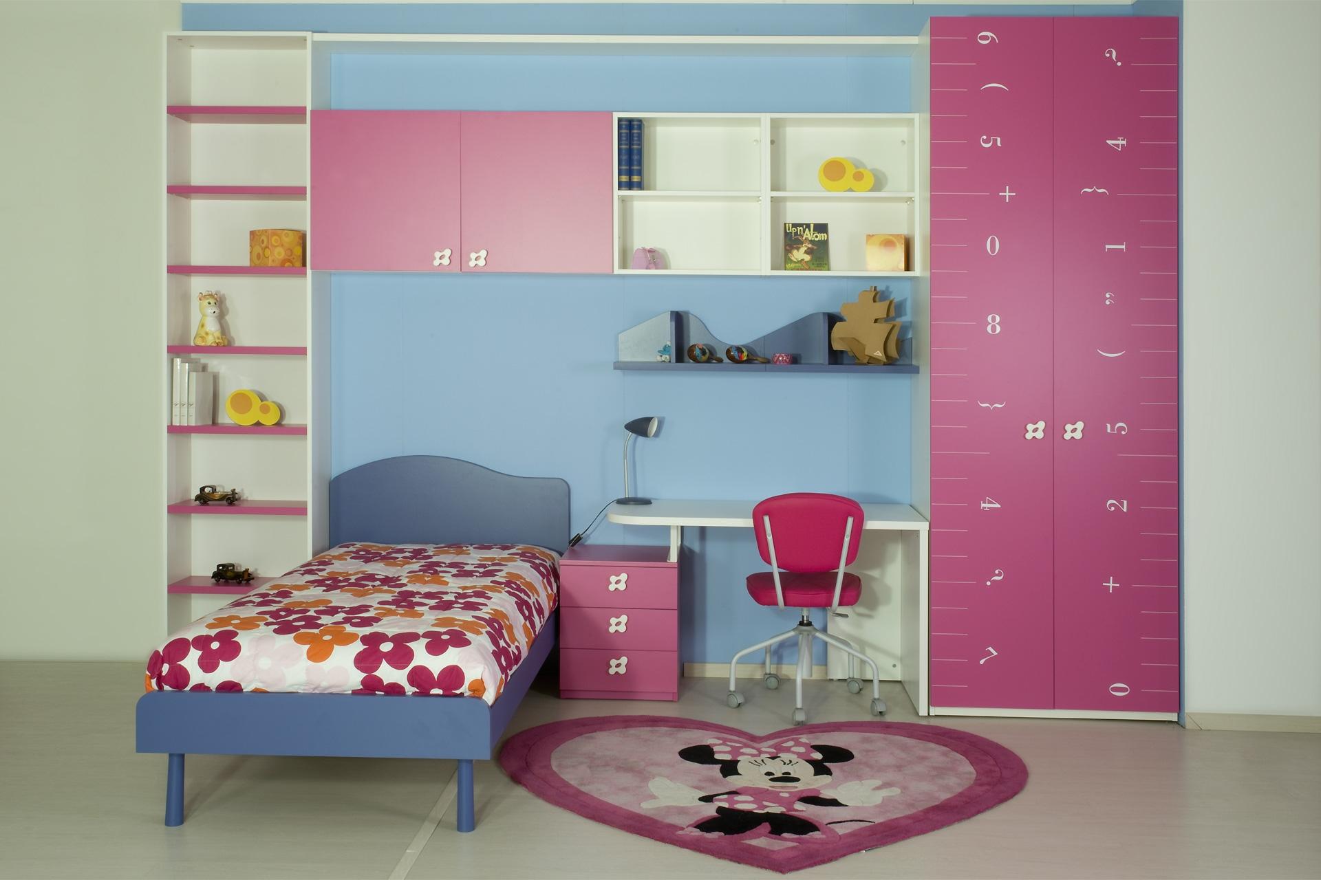 Camerette colori pareti un tocco di colore per ravvivare for Colori pareti camerette ragazzi