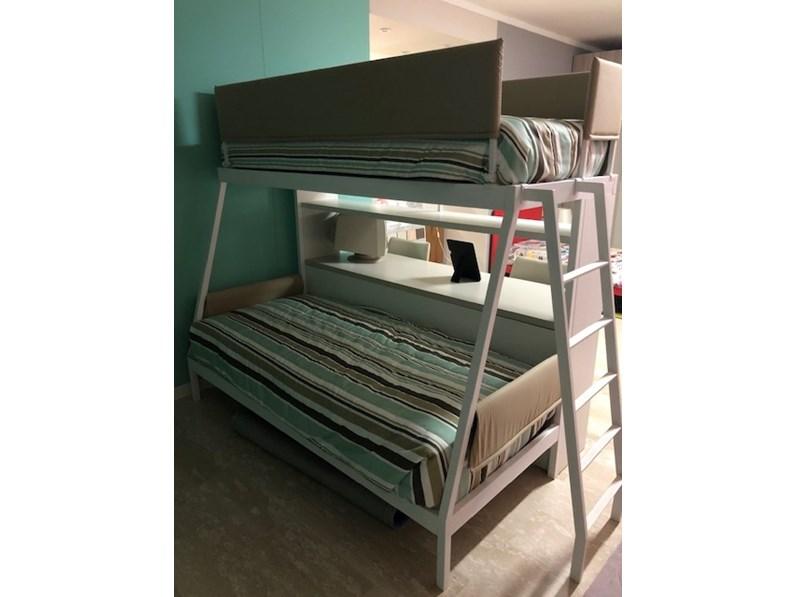 Cameretta Letto a castello incli Zg mobili con letto a ...