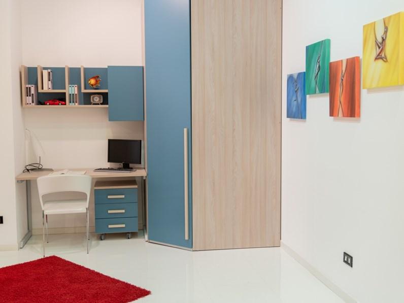 Cameretta Luxy Furlan senza letto a prezzo Outlet