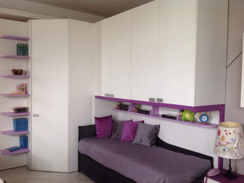 Cameretta M Moretti compact senza letto in Offerta Outlet
