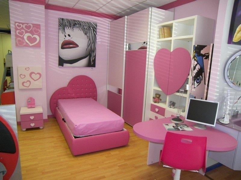 Cameretta mab principessa scontato del 35 camerette a for Cameretta rosa