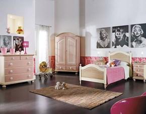 Cameretta Mobilike ariel Artigianale in legno a prezzo Outlet