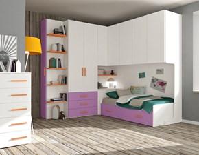 Cameretta Mod. idea 131 Italian business con letto a pontein offerta